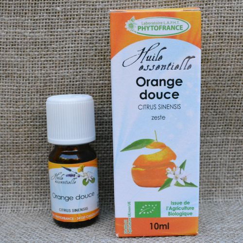Huiles Essentielles Orange douce Bio 10 ml