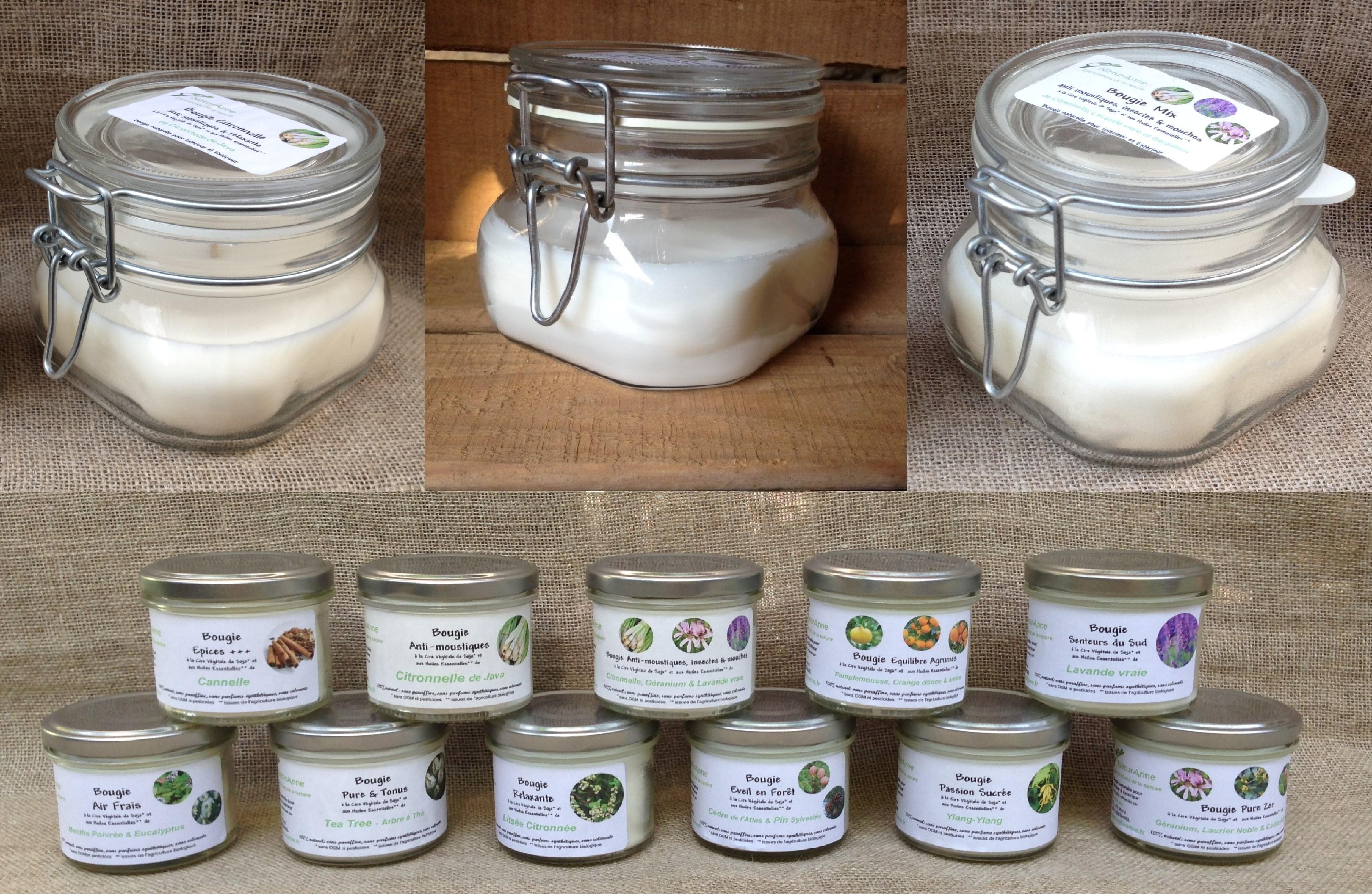 Les bougies naturanne - Bougies naturelles aux huiles essentielles ...